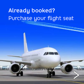 Already booked? Purchase your flight seat